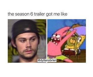 funny, memes, and teen wolf image
