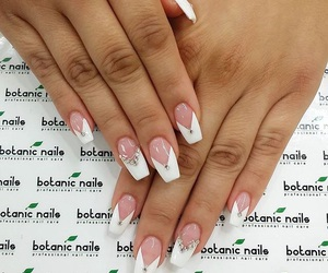 nails, white, and nails design image