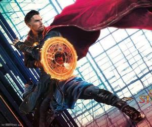 benedict cumberbatch, stephen strange, and Marvel image