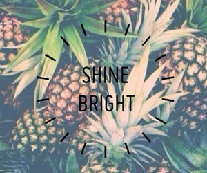 pineapple and bright image
