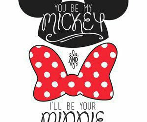 disney, minnie, and love image