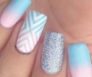 nails, decoradas, and uñas image