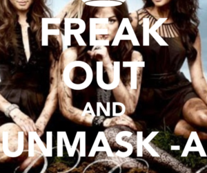 pretty little liars, unmasked, and -a image