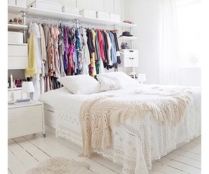 bed, house, and closet image