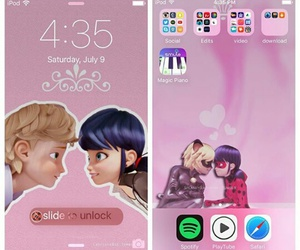 Adrien, wallpaper, and marinette image