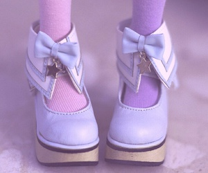 purple, shoes, and stars image