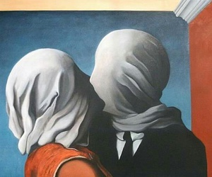 magritte and les amants image