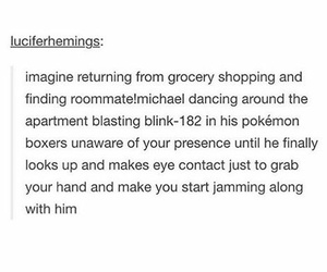 roommate and 5sos imagine image