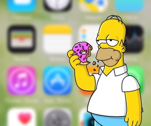 homer and wallpaper image