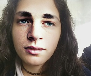 funny, colton haynes, and face swap image