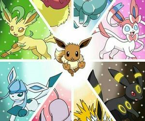 pokemon, eevee, and flareon image