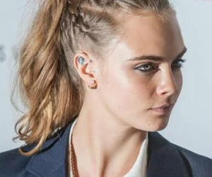 cara delevingne, hair, and model image