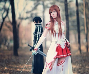 cosplay, sword art online, and sao image