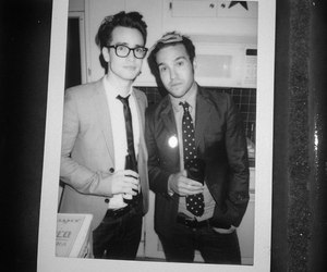 brendon urie, pete wentz, and panic! at the disco image