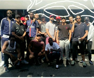 rap, tour bus, and s-crew image