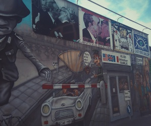 art, checkpoint charlie, and berlin image