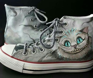 alice in wonderland, all star, and converse image