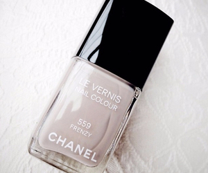 chanel, nails, and nail polish image