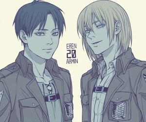 attack on titan, snk, and eren jaeger image