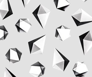 background, geometric, and origami image