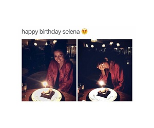selena gomez and cake image