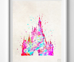 cinderellas castle, disney castle poster, and cinderella image