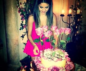 selena gomez, birthday, and cake image