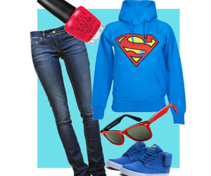 clothes, Polyvore, and ray ban image