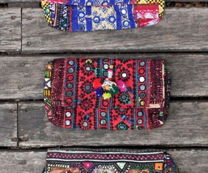bags, bohemian, and fashion image