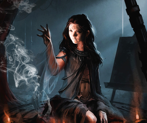 witch, fantasy, and magic image