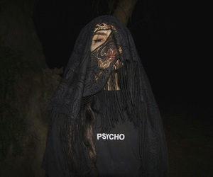 Psycho, grunge, and black image