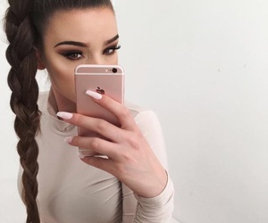 beautiful, braid, and outfit image