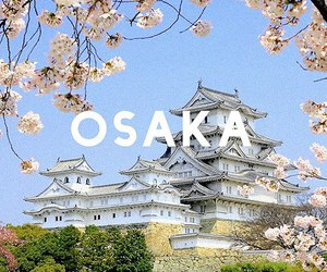 japan, osaka, and japanese image