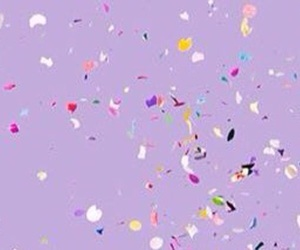 aesthetic, header, and lilac image