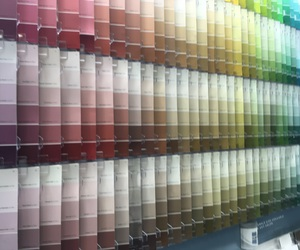 paint, rainbow, and paint swatches image
