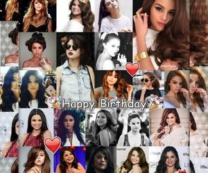 happy birthday and selena gomez image
