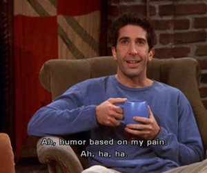 friends, pain, and humor image