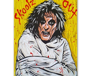 alice cooper, schools out, and hollywood vampires image