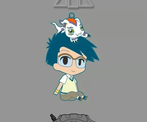 gomamon, sinceridad, and digimon adventure image
