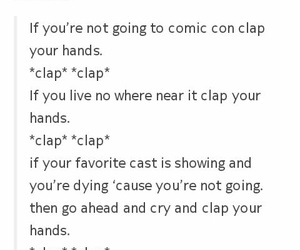 comic con, sad, and not there image