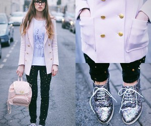 glitter, pants, and primark image