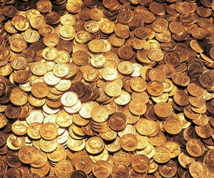 coins, gold, and treasure image