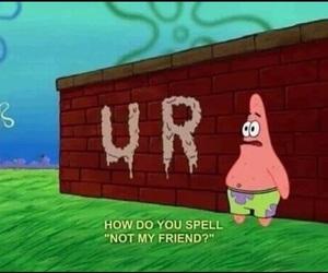 spongebob, patrick, and meme image