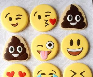 Cookies, emoji, and emojis image