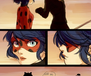 Chat Noir, miraculous, and miraculous ladybug image
