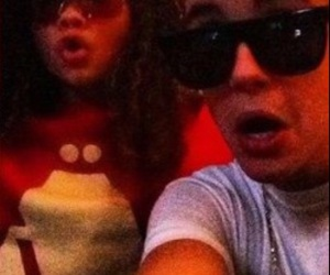 justin bieber, ashley moore, and bizzle image