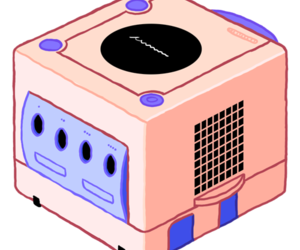 gamecube and nintendo image