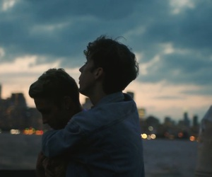 couple, troye, and youtuber image