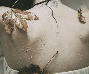 girl, nature, and ophelia image