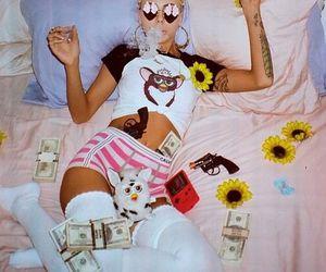 lil debbie, money, and bitch image